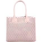 Růžová perforovaná kabelka ONLY Reena