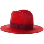 Damen Wollhut in rot von C&A