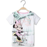 C&A Mädchen T-Shirt in weiss von Walt Disney Girls