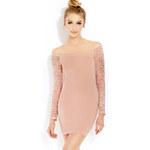 Forever 21 Sweet Side Bodycon Dress