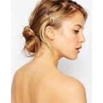 ASOS Limited Edition - Haarspangen mit zwei Strasssteinen - Rosévergoldete