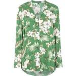 ESPRIT Collection Oversize Bluse mit floralem Muster
