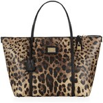 Dolce & Gabbana Escape Leopard East/West Tote