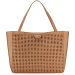 Tory Burch Romi Woven Leather Tote Bag