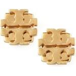 Tory Burch Small T-Logo Stud Earrings