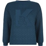 Karl Lagerfeld Elena Quilted Sweater