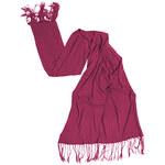 Braintree Šála - Pashmina - pashmina růžová