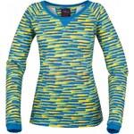 Dámské triko s dlouhým rukávem LOAP MONROE CCL1327 ŽLUTÁ Velikost:XS ( 34 )