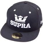 kšiltovka SUPRA - Above New Era Black (BAB)