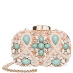 ALDO TRAWICK Clutch light pink
