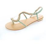 Zelené sandály Serpent EUR40
