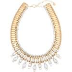 Proplétaný náhrdelník ve zlaté barvě Pieces Joli