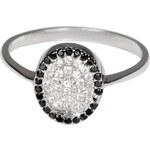 Pattic Stříbrný prsten se zirkony ITS3325001SC 55 mm