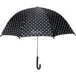 Dětský deštník Playshoes černý puntík