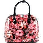Červená kabelka Flowerin Bellasi