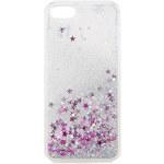 Topshop **Silberfarbene iPhone-6-Glitzerhülle von Skinnydip