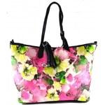 Květinová růžová kabelka Ivanes Bellasi 2467