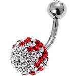 Oliver Weber Piercing do pupíku Ball 7900-RED
