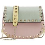 Valentino Colorblock Rockstud Mini Shoulder Bag