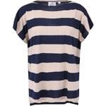 Modro-krémové dámské volné tričko Cheap Monday Rocket