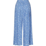 Topshop **Pleated Print Culottes by The Whitepepper