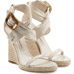 Burberry Shoes & Accessories Catsbrook Python Wedges