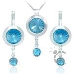 MHM Souprava šperků Miriam Aquamarine 3496