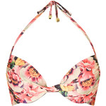 Topshop Peonie Floral Plunge Bikini Top
