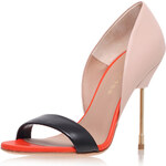 Topshop **High Heel Leather Court Shoes by Kurt Geiger