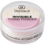 Dermacol Invisible transparentní pudr odstín Light (Fixing Powder) 13 g