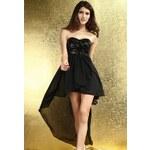 DAMSON Černé plesové šaty