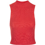 Topshop '90s Knitted Ribbed Crop Top