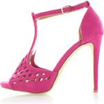 Fuchsiové sandály Pink EUR38