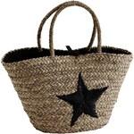 Slaměná taška Black Star