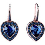 Guess Coins of Love Heart Stone Earrings