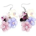 Bloom Bižuterie náušnice lila