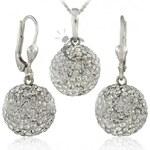 MHM Souprava šperků Kuličky M5 Crystal 34157 AKCE
