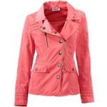 Ostatní Heine dámská korálově červená jarní bunda, Velikost 38, Barva červená