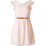 C&A Damen Gerüschtes Kleid in rosa von Clockhouse