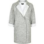 Topshop Wool Blend Throw-On Duster Jacket