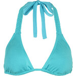 Topshop Braided Triangle Bikini Top