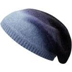 Stetson Lowell - pletená čepice z alpaka vlny s vysokou korunou, modrá