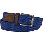 Modrý pletený pásek, Tyler & Tyler