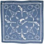 Modrý šátek s kovbojskými motivy, A Piece of Chic
