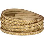 Troli Náramek Wrap Metal 4x Gold