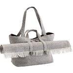 Plážová taška s rohožkou ZigZag Grey