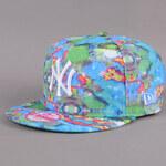 New Era WMNS Candy Smudge NY modrá / multicolor