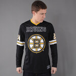 Majestic Chucker Hockey LS Boston Bruins černý