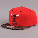 Mitchell & Ness The Archives Chicago Bulls červená / černá / hnědá / tmavě zelená