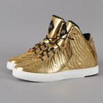 Nike Lebron XI NSW Lifestyle BHM QS metallic gold / mtllc gold - blk
